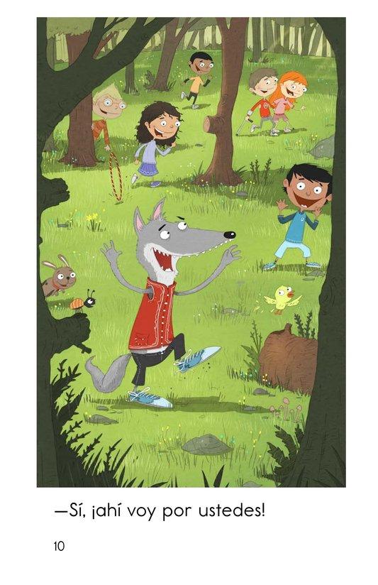 Book Preview For Juguemos en el bosque Page 10