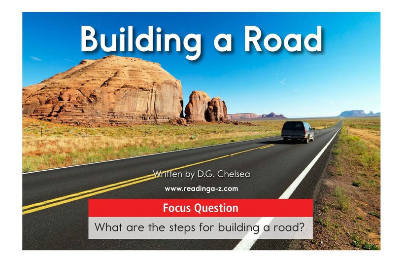 Book Preview For Building a Road Page 1