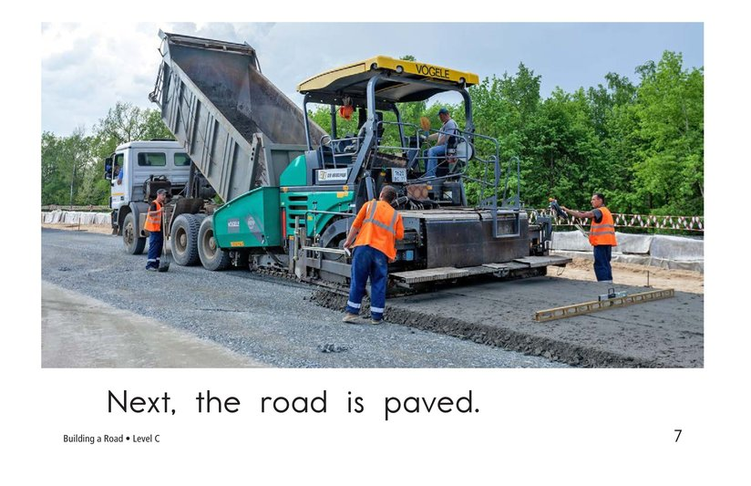 Book Preview For Building a Road Page 7