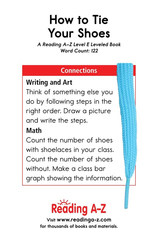 Book Preview For How to Tie Your Shoes Page 13