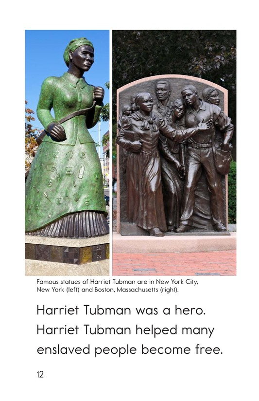 Book Preview For Harriet Tubman Page 12