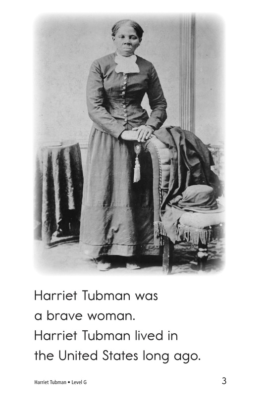 Book Preview For Harriet Tubman Page 3