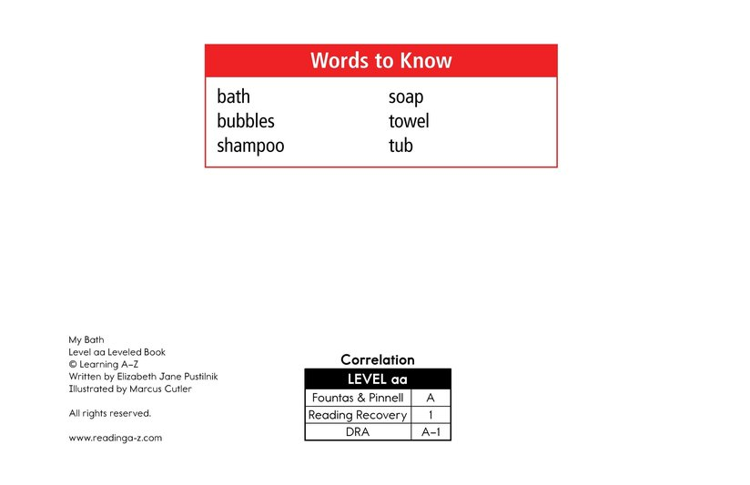 Book Preview For My Bath Page 2