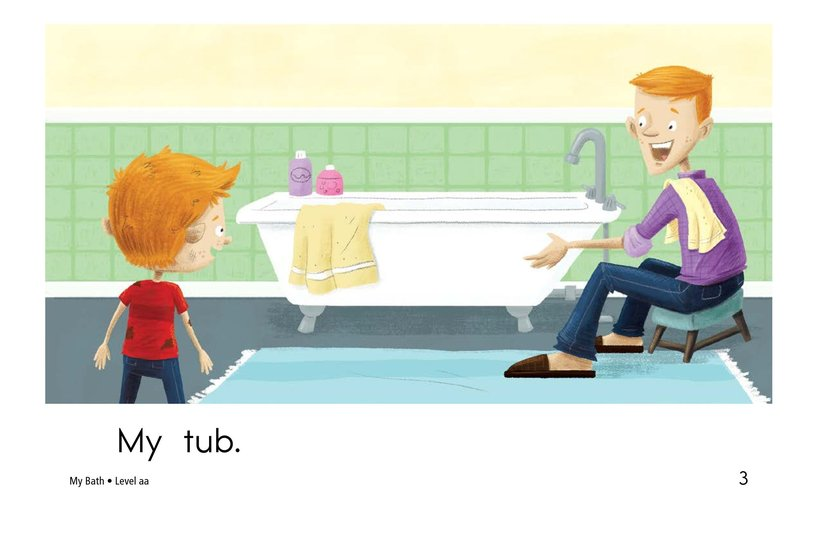 Book Preview For My Bath Page 3