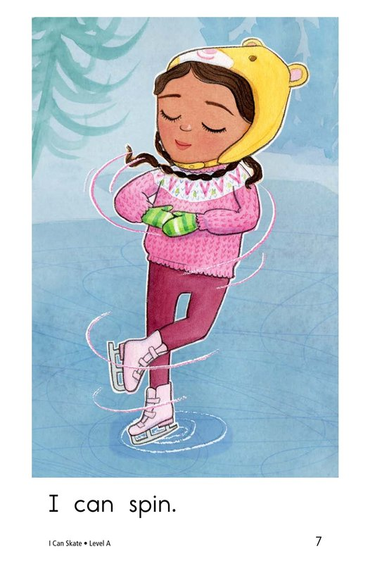 Book Preview For I Can Skate Page 7