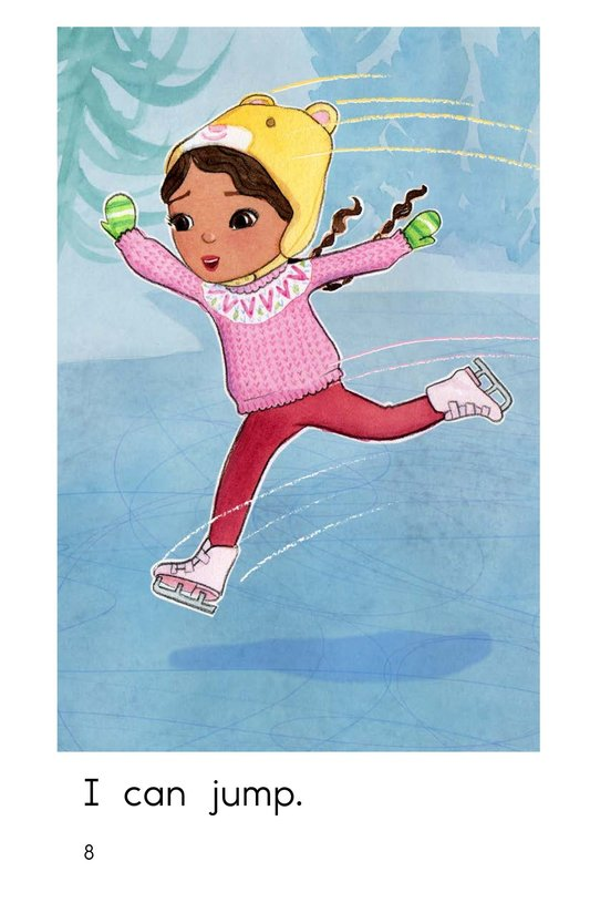 Book Preview For I Can Skate Page 8