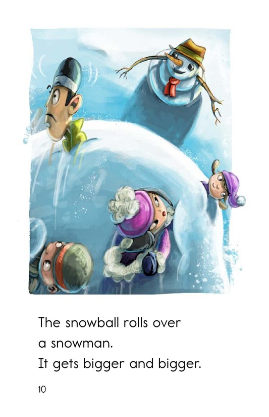 Book Preview For Runaway Snowball Page 10