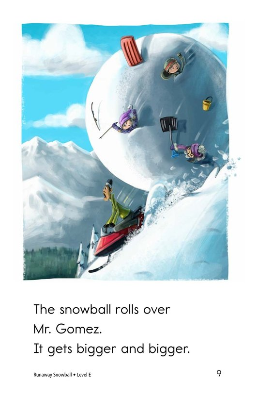 Book Preview For Runaway Snowball Page 9