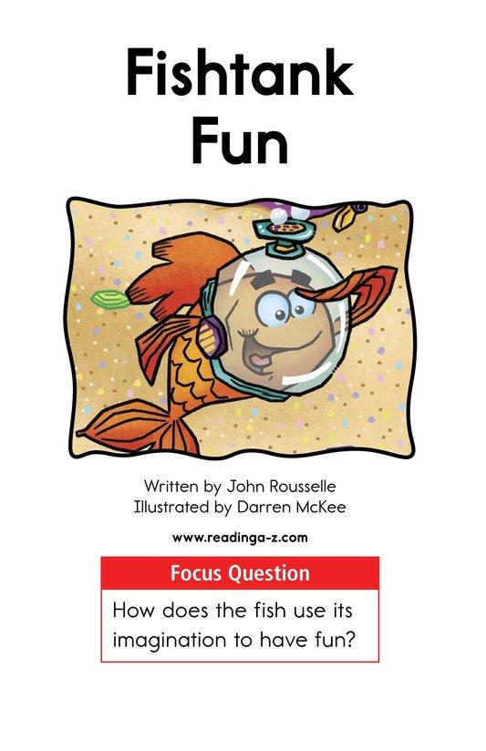 Book Preview For Fishtank Fun Page 1
