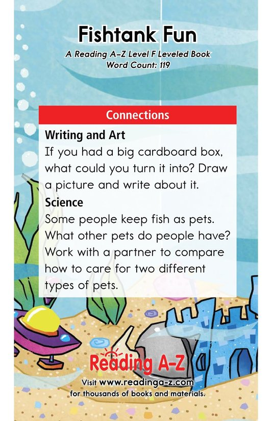 Book Preview For Fishtank Fun Page 13