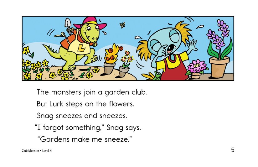 Book Preview For Club Monster Page 5