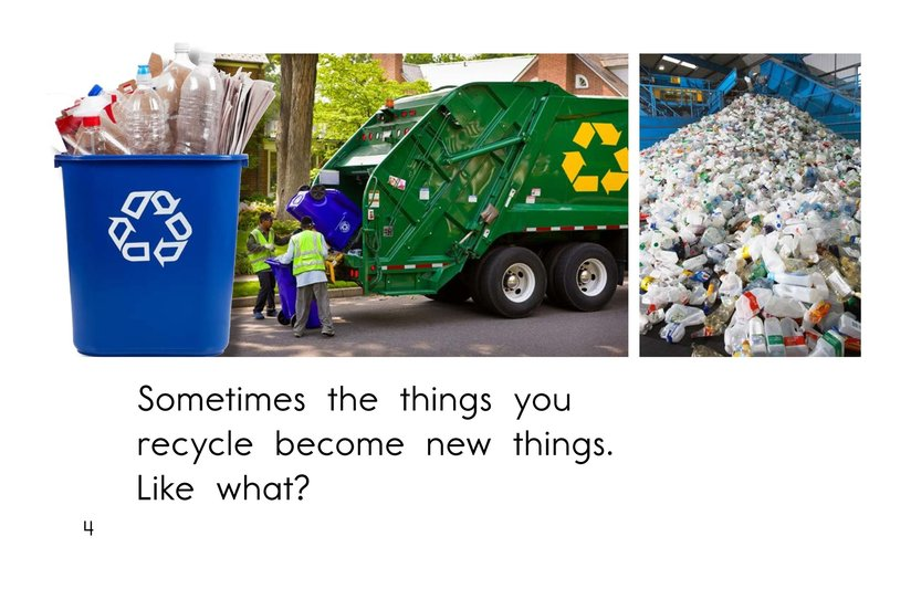 Book Preview For Because You Recycle Page 4