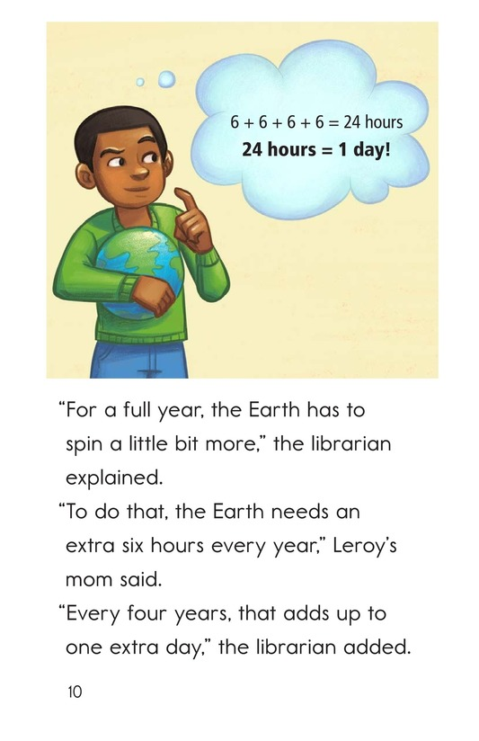 Book Preview For Leap Year Birthday Page 10