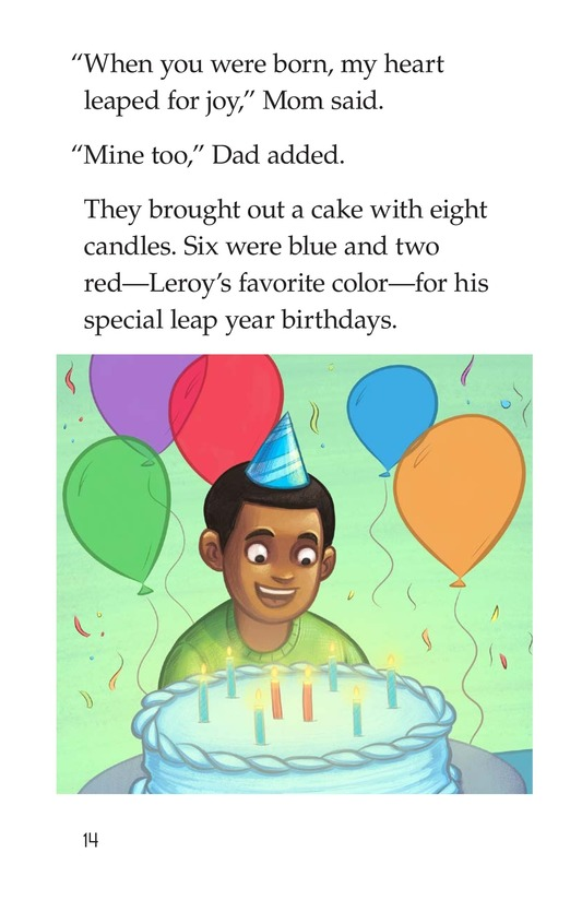 Book Preview For Leap Year Birthday Page 14