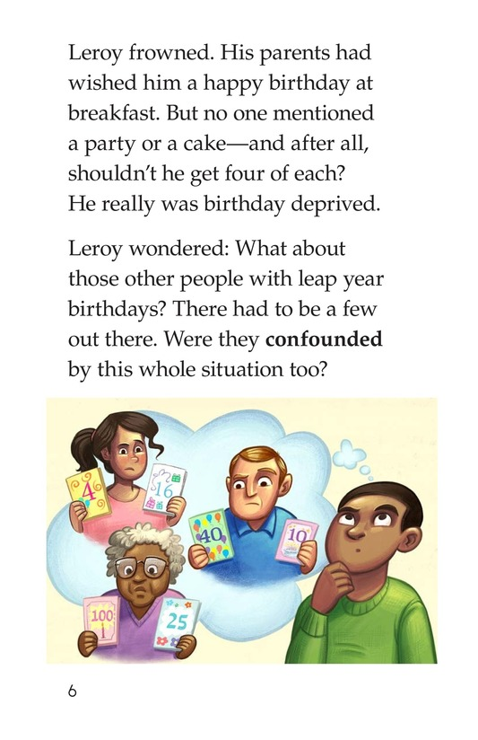 Book Preview For Leap Year Birthday Page 6