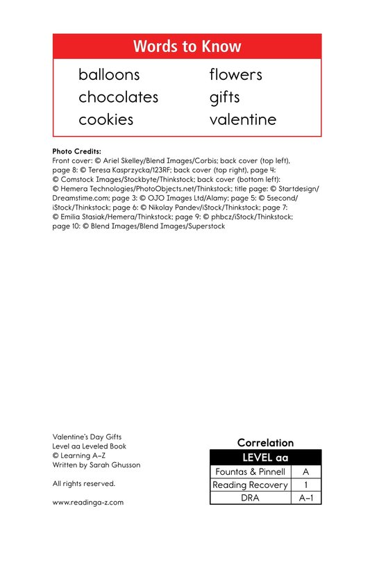 Book Preview For Valentine's Day Gifts Page 2