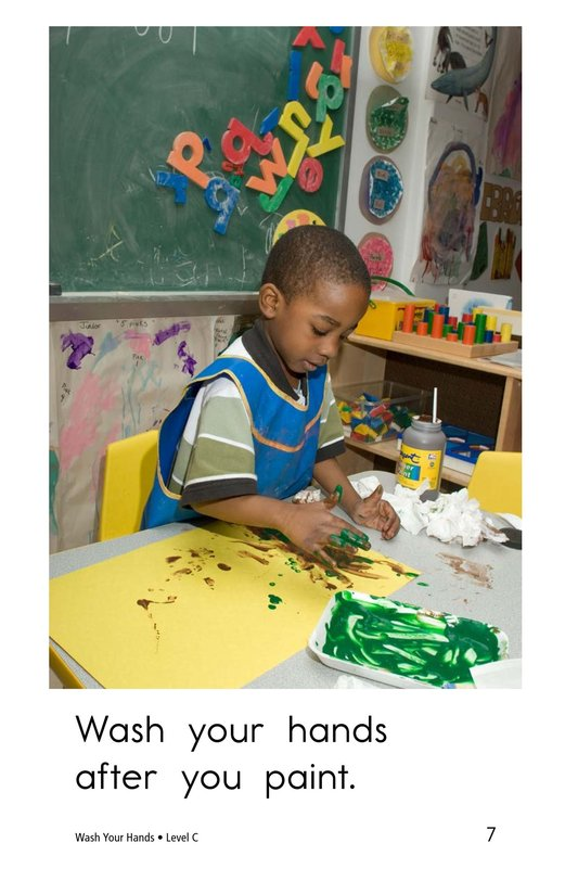 Book Preview For Wash Your Hands Page 7