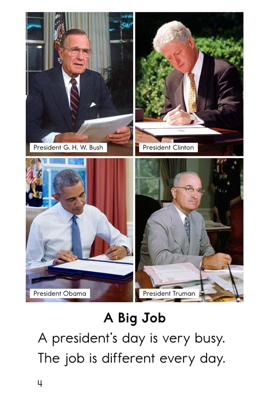 Book Preview For A President's Day Page 4