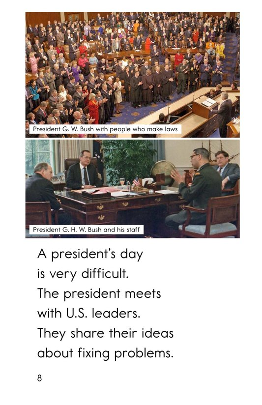 Book Preview For A President's Day Page 8