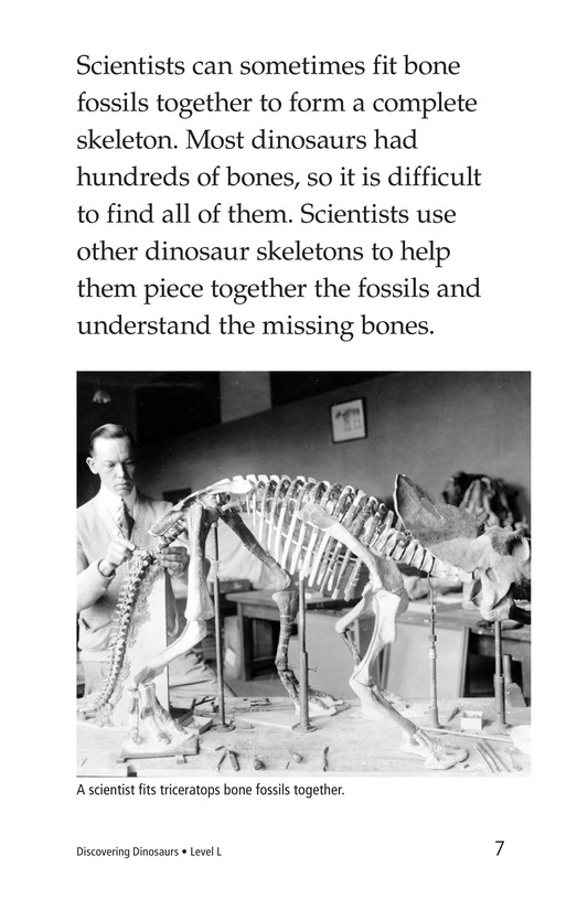 Book Preview For Discovering Dinosaurs Page 7