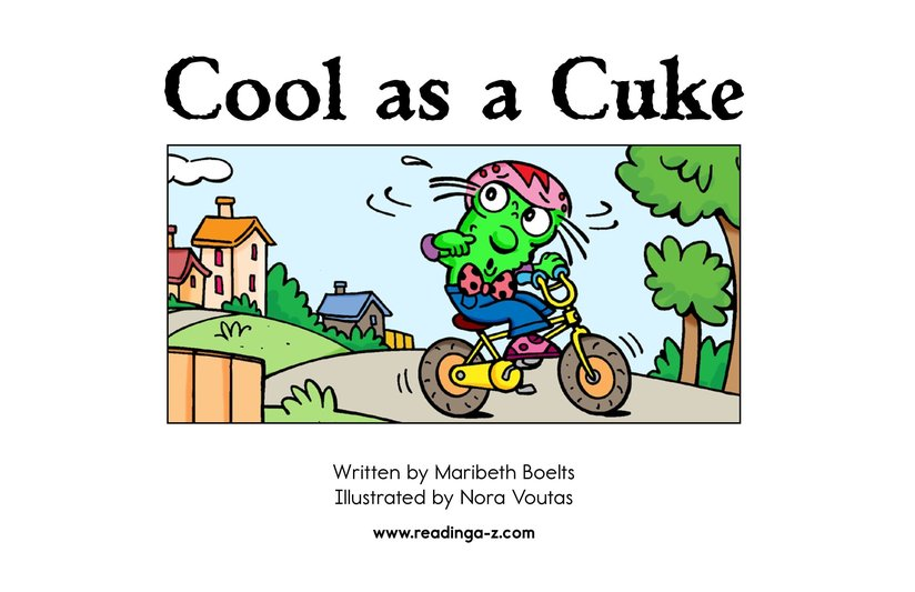 Book Preview For Cool as a Cuke Page 2