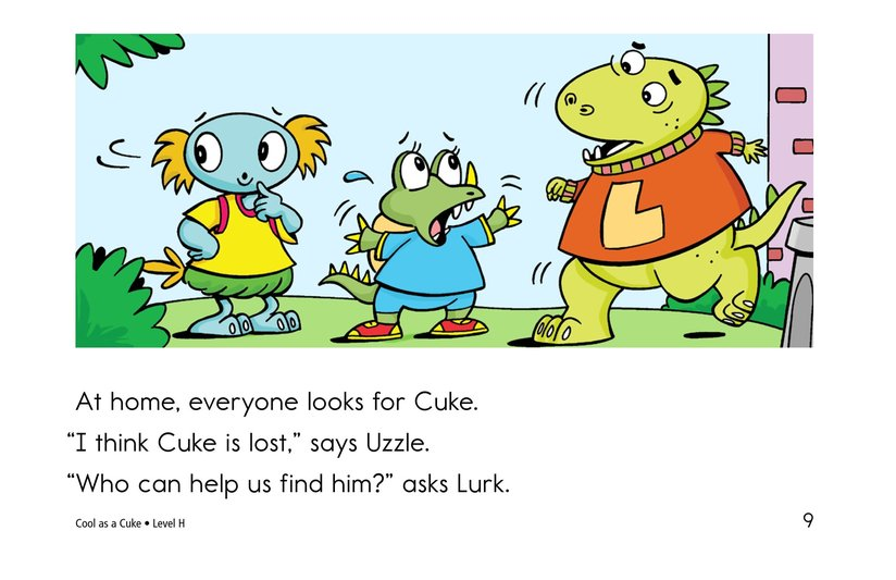 Book Preview For Cool as a Cuke Page 9