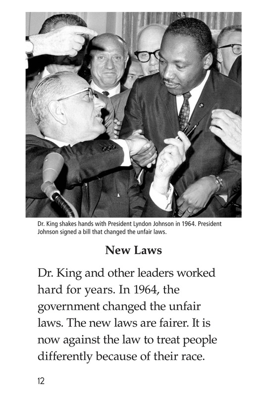 Book Preview For Dr. King's Memorial Page 12