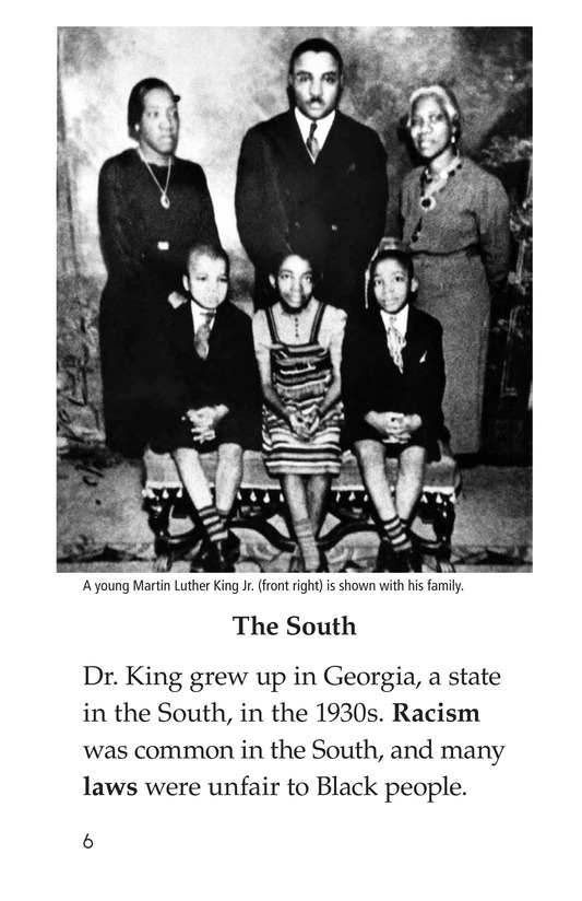 Book Preview For Dr. King's Memorial Page 6