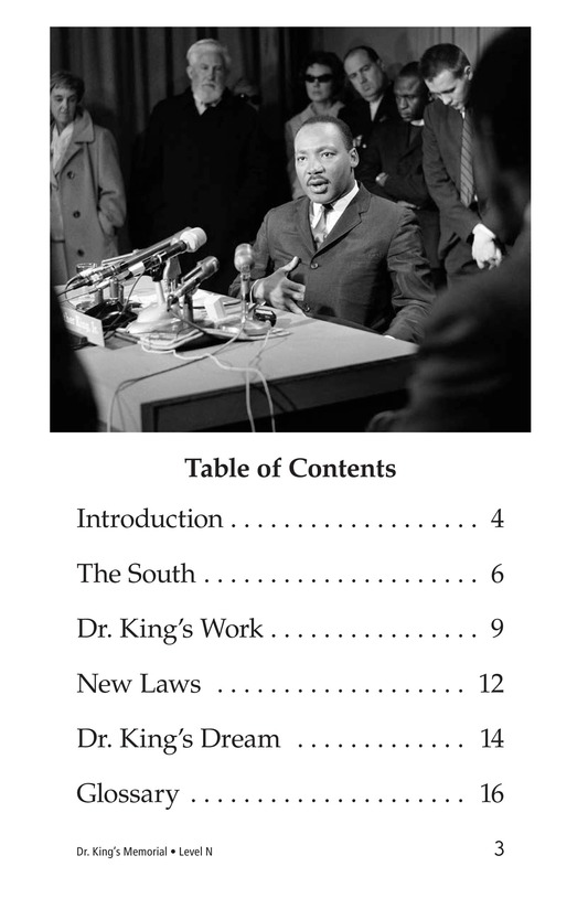 Book Preview For Dr. King's Memorial Page 3