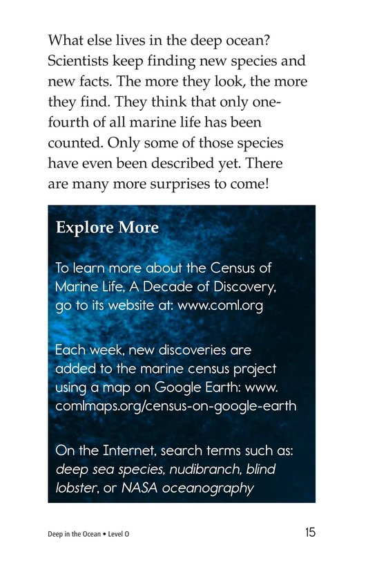Book Preview For Deep in the Ocean Page 15