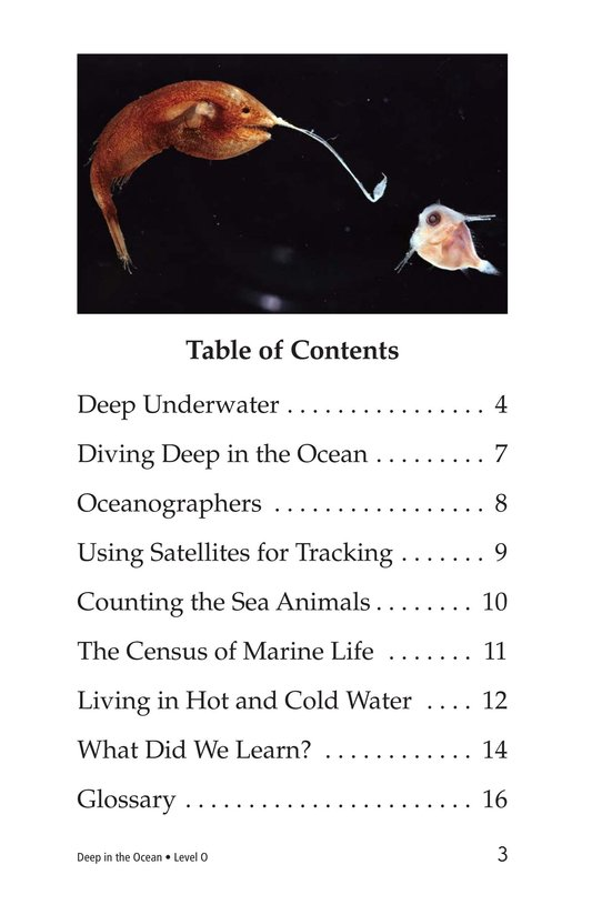 Book Preview For Deep in the Ocean Page 3