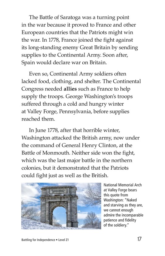 Book Preview For Battling for Independence Page 17
