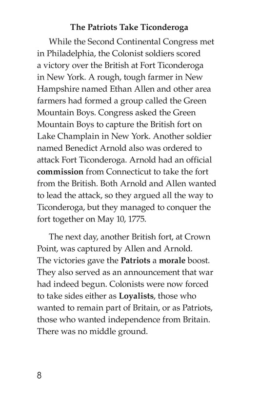 Book Preview For Battling for Independence Page 8