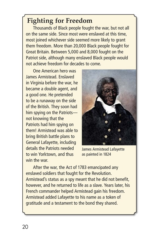 Book Preview For Battling for Independence Page 20