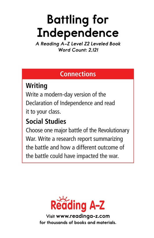 Book Preview For Battling for Independence Page 25