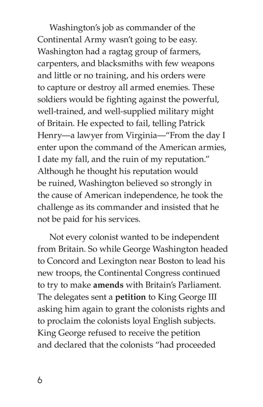 Book Preview For Battling for Independence Page 6