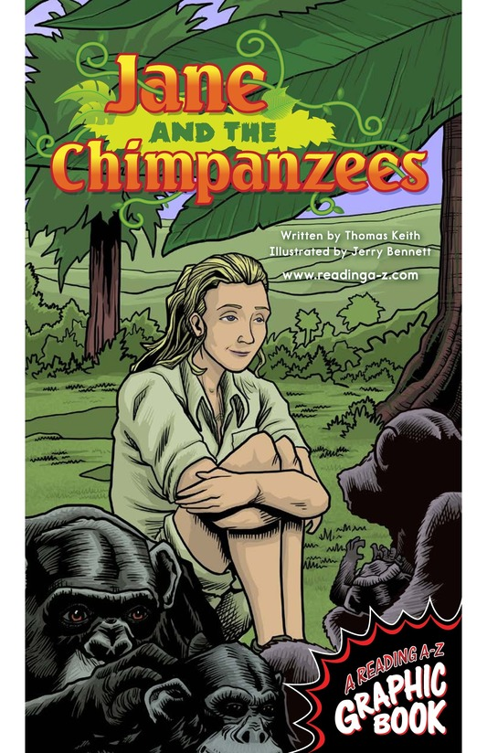 Book Preview For Jane and the Chimpanzees Page 1