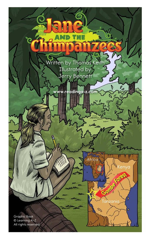 Book Preview For Jane and the Chimpanzees Page 2