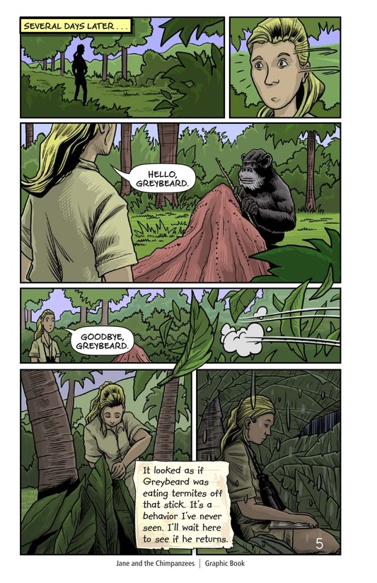 Book Preview For Jane and the Chimpanzees Page 6