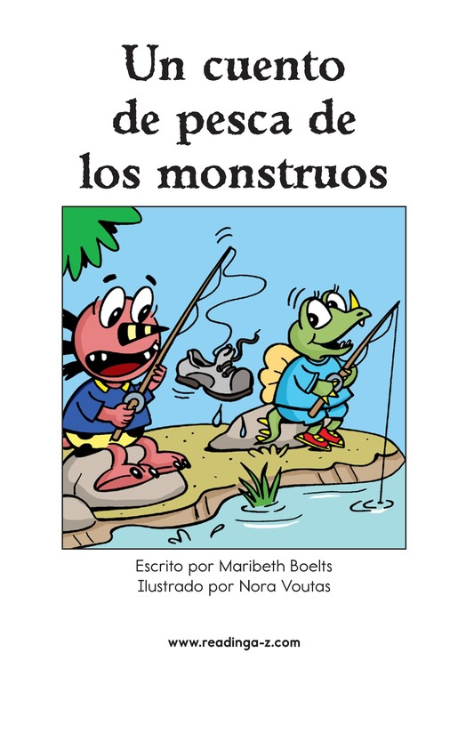 Book Preview For A Monster Fish Tale Page 2