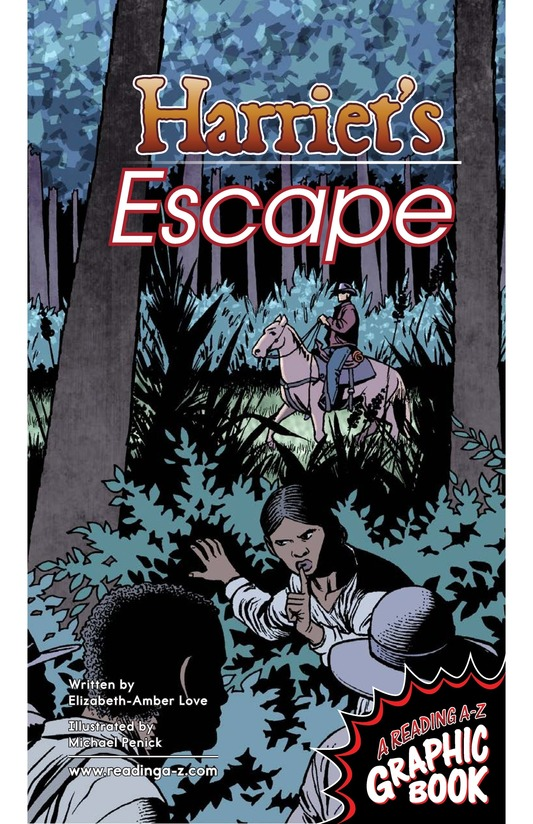 Book Preview For Harriet's Escape Page 1
