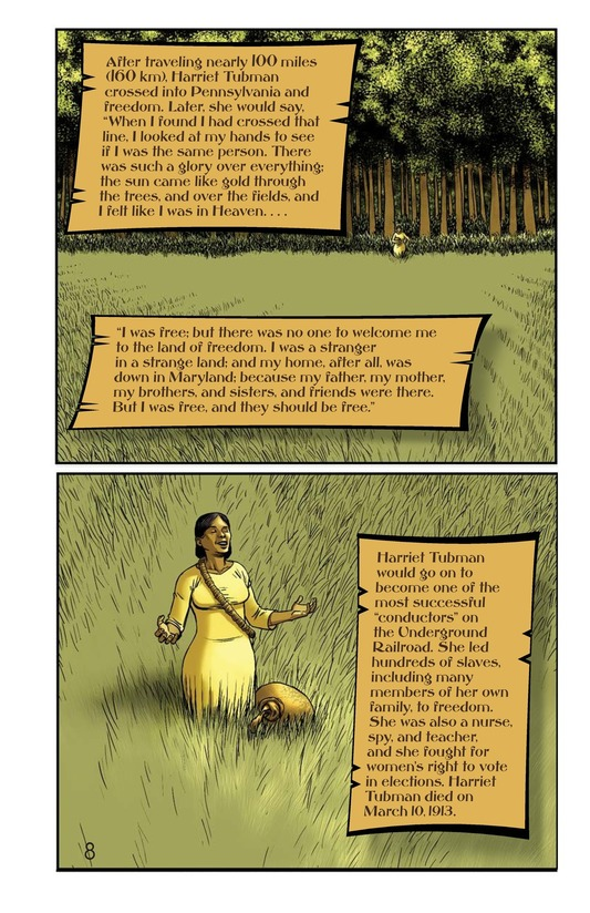 Book Preview For Harriet's Escape Page 9