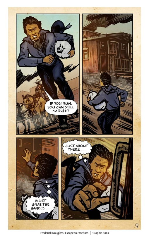 Book Preview For Frederick Douglass: Escape to Freedom Page 10