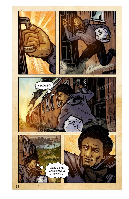 Book Preview For Frederick Douglass: Escape to Freedom Page 11