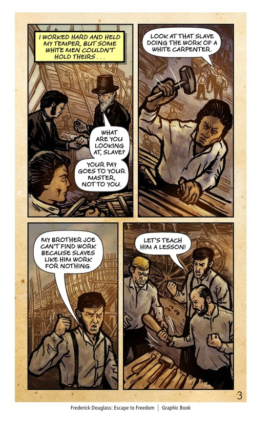 Book Preview For Frederick Douglass: Escape to Freedom Page 4