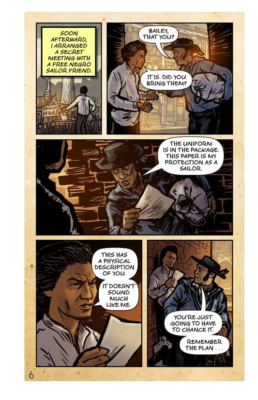 Book Preview For Frederick Douglass: Escape to Freedom Page 7