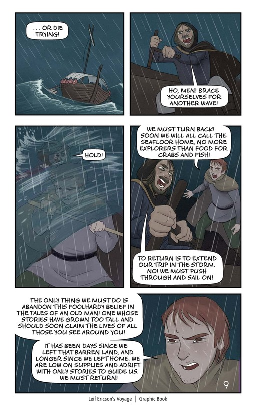 Book Preview For Leif Ericson's Voyage Page 10