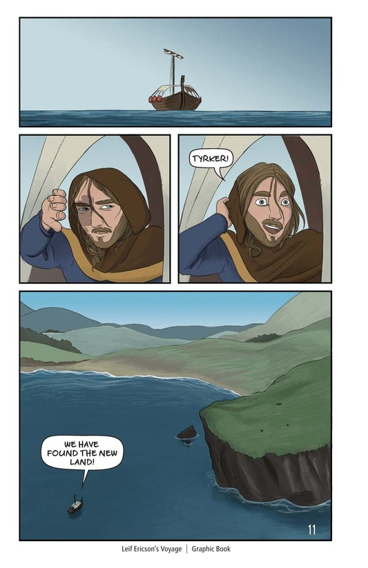 Book Preview For Leif Ericson's Voyage Page 12