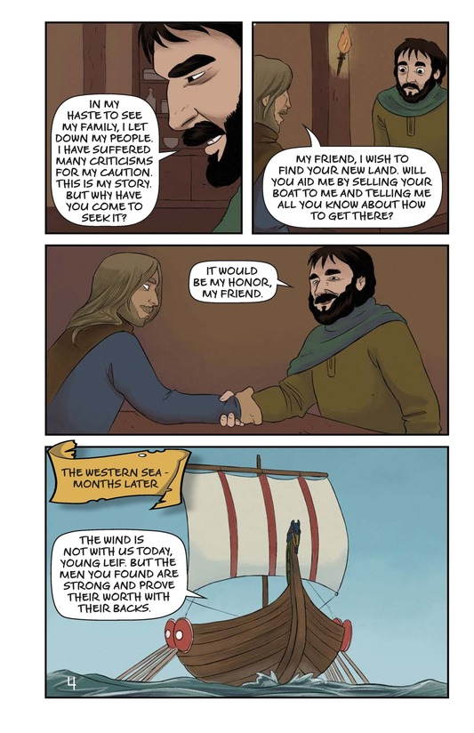 Book Preview For Leif Ericson's Voyage Page 5
