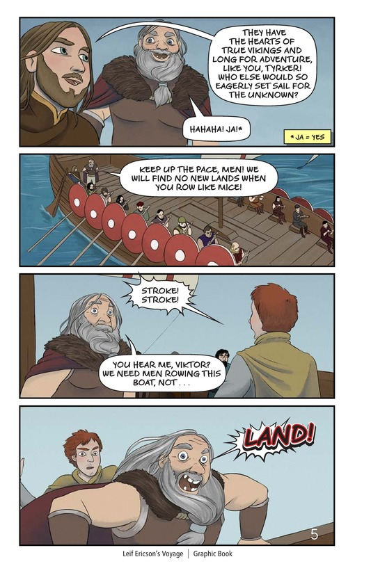 Book Preview For Leif Ericson's Voyage Page 6